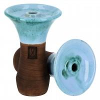 Tabakkopf Evo Blue Kiwi Phunnel, Werkbund Hookah