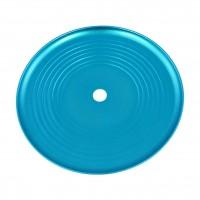Groove Aluminium Ascheteller Blau eloxiert, 24 cm, Kaya