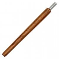 Wookah Holzmundstück Teak, 28 cm