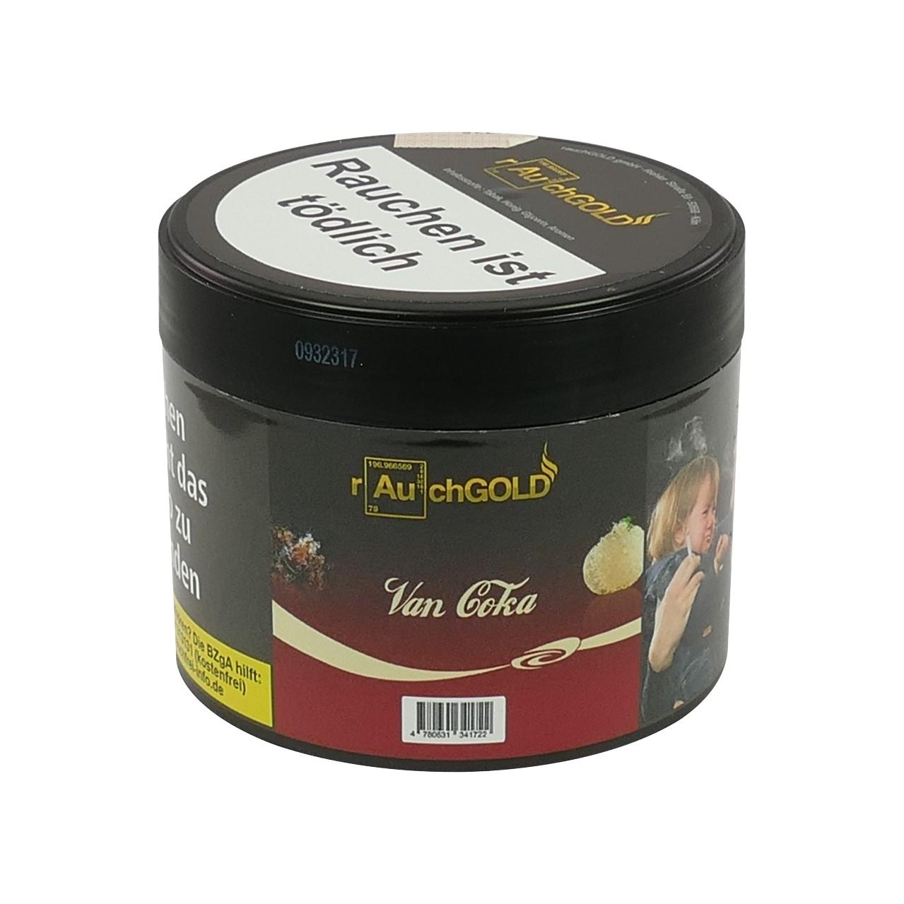 Rauchgold Cola Vanille (Van Coka) Shisha Tabak, 200g