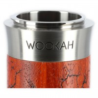 Wookah QLS Classic Holz Shisha Grom Padouk, 63 cm hoch