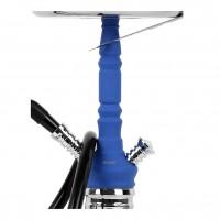 MYA Melina Klick Shisha, Clear RS Blue, 46 cm hoch
