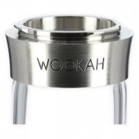 Wookah QLS Crystal Waves Shisha Padouk-Wenge, 63 cm hoch