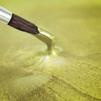 Metallic Foot Paint Lebensmittelfarbe Pearlescent Yellow, 25ml