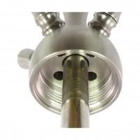 Kaya Inox 630FL Shisha Clear T-Screw Konik 4S, 62 cm hoch