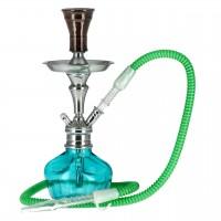 Aladin Roy 2 Shisha, Grün, 31 cm hoch