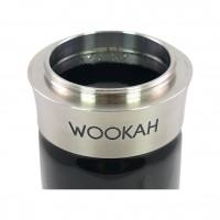Wookah Crystal Check Black Shisha Padouk, 64 cm hoch