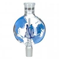 Molassefänger Marco Polo Blau, aus Glas, 18,8 auf 18,8