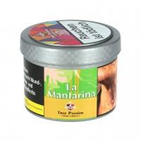 True Passion Mandarine Orange Holunder Menthol (La Mantarina) Shisha Tabak, 200g