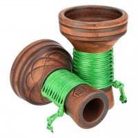 Japona Hookah Killer Bowl Green Tabakkopf Mehrloch