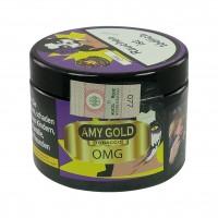 Amy Gold Zitrone Blaubeere Kaugummi (OMG) Shisha Tabak, 200g