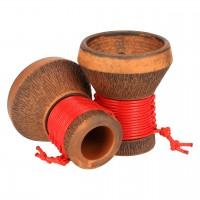 Japona Hookah Smoke Bowl Red Tabakkopf Mehrloch