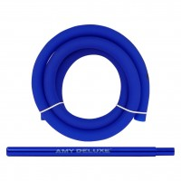 Amy Alu Lima S Klick Shisha, Blue RS Black, 52 cm hoch