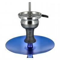 Aladin Alux 5 Aluminium Shisha, Blau, 44 cm hoch