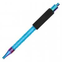 Smoke2U Eis-Mundstück Freeze Tip Rainbow-Blau, 38 cm