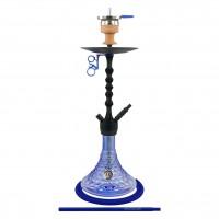 Amy Alu Antique Berry Klick Shisha, Blue RS Black, 62 cm hoch