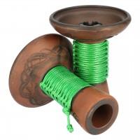 Japona Hookah Mummy Bowl Green Tabakkopf Einloch