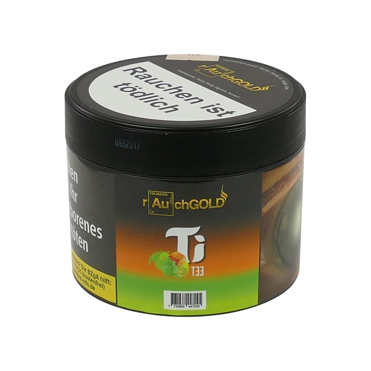 Rauchgold Mango Limette Earl Grey (Ti Tee) Shisha Tabak, 200g