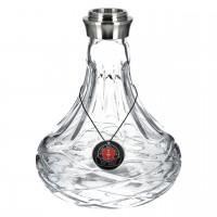 Amy Xpress Chill S Shisha, Transparent, 49 cm hoch