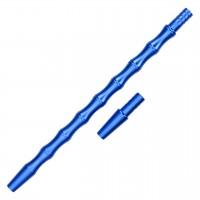 """Alu-Mundstück """"Bone"""" Blau, mit Adapter, 30 cm"""