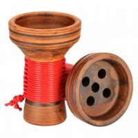 Japona Hookah Killer Bowl Red Tabakkopf Mehrloch