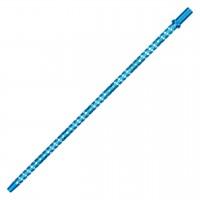 Alu-Mundstück Caesar Slim Fine Diamond Blau, 42 cm