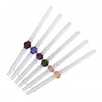 Glas-Mundstück Lolly Stick, 34 cm