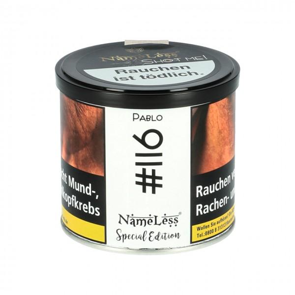 NameLess Limette Blaubeere (Pablo #116) Shisha Tabak, 200g