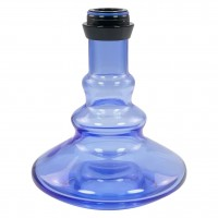 Amy Alu Zulu S Klick Shisha, Blue RS Black, 51 cm hoch