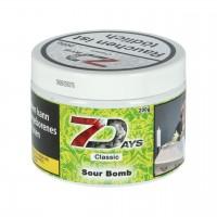 7 Days Classic saure Apfelringe (Sour Bomb) Shisha Tabak, 200g