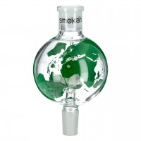Molassefänger Marco Polo Grün, aus Glas, 18,8 auf 18,8