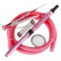 Smokah Hero 2.0 Alu Shisha Pink Glow, 43 cm