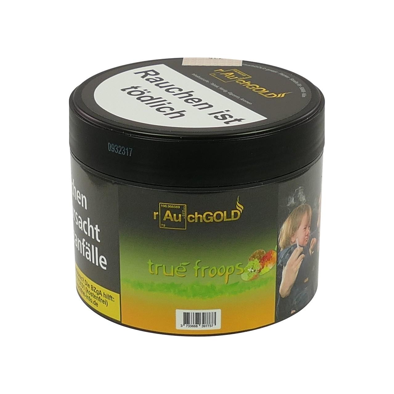 Rauchgold Mango Kiwi (True Froops) Shisha Tabak, 200g