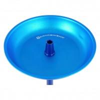 Kaya Elox 630AR Shisha Clear Click Lance Schliff Blau 4S, 65 cm hoch
