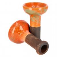 Denka Bowl Einloch Phunnel, Orange-Grün