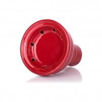 MYA Melina Klick Shisha, Clear RS Red, 46 cm hoch