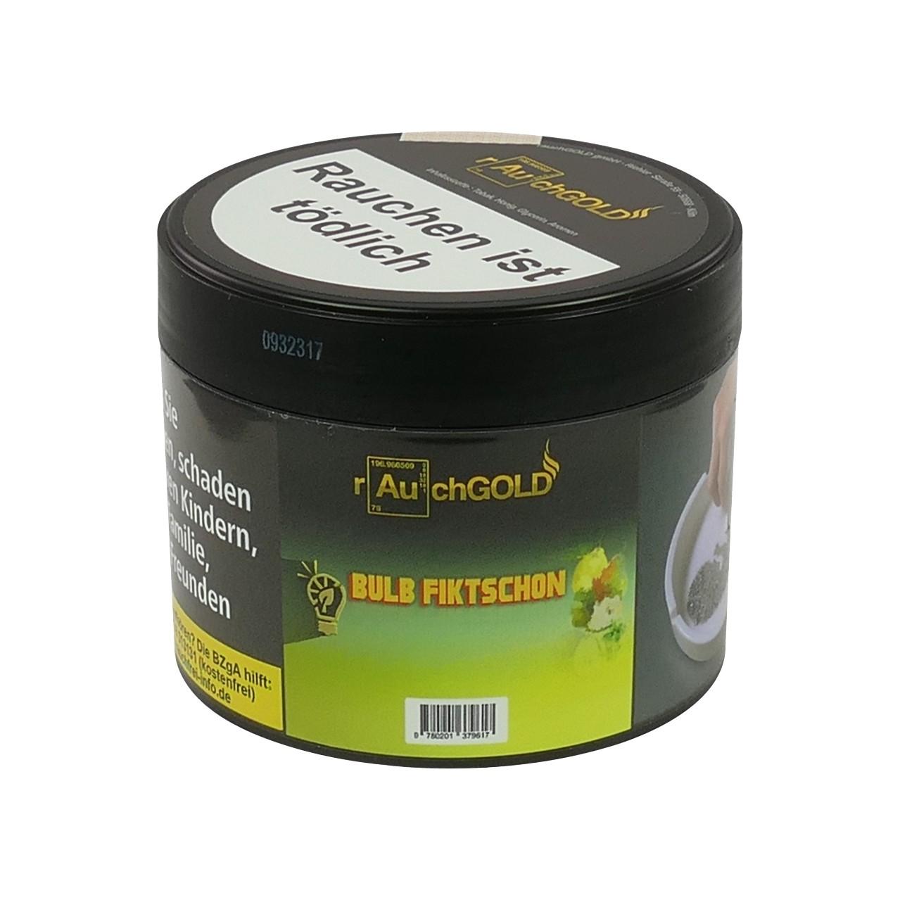 Rauchgold Zitronenbonbon Birne Minze (Bulb Fiktschon) Shisha Tabak, 200g