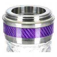 Amy Little X-Ray Shisha Purple Clear, 49 cm hoch