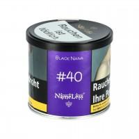 NameLess erfrischende Schwarze Traube (Black Nana #40) Shisha Tabak, 200g
