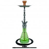 Caesar Kaiser Chrome Klick Shisha Shining Green, 64 cm