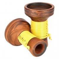 Japona Hookah Killer Bowl Yellow Tabakkopf Mehrloch