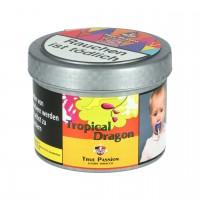 True Passion Maracuja Papaya Drachenfrucht Limette (Tropical Dragon) Shisha Tabak, 200g