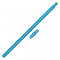 AO Alu-Mundstück Liner XL, Matt-Blau, mit Adapter, 40 cm