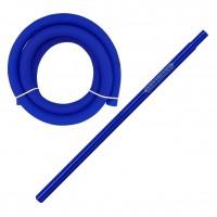 Amy Alu Claw Klick Shisha, Blue RS Black, 62 cm hoch