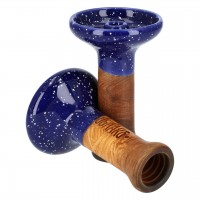 Oblako Phunnel M Glazed Blue Cosmos Tabakkopf Einloch