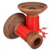 Japona Hookah Mummy Bowl Red Tabakkopf Einloch