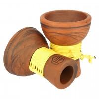 Japona Hookah Turkish Bowl Yellow Tabakkopf Mehrloch