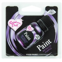 Paint Metallic Lebensmittelfarbe Purple, 25g