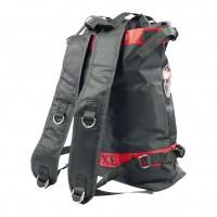 Outdoor Rucksack, schwarz/rot, 40 cm, Amy Deluxe