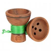 Japona Hookah Turkish Bowl Green Tabakkopf Mehrloch